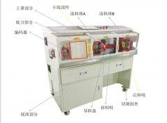 大平方电脑剥线机的结构组成