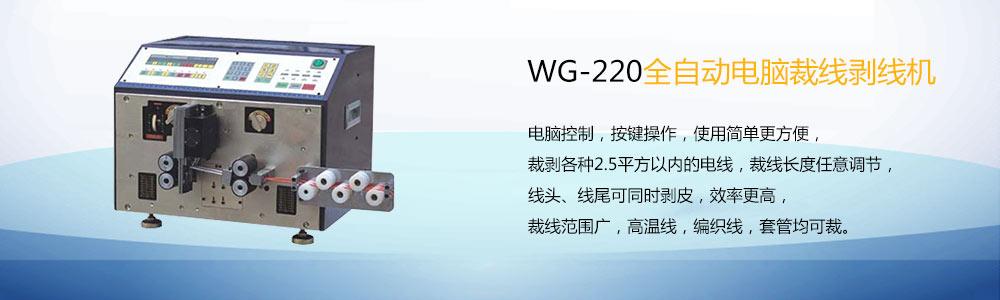 WG-220全自动电脑裁线剥线机